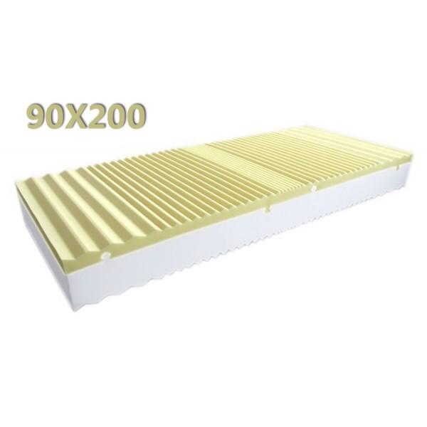 materasso king size memory 90X200 fodera aloe vera