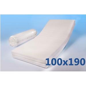 """Materasso 100x190 Ortopedico  """"MORFEO""""XL  Alto 18,5 cm"""