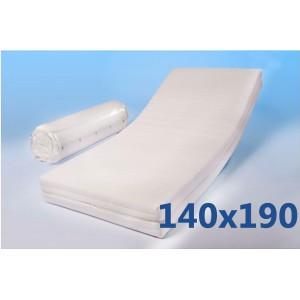 """Materasso 140x190 Ortopedico """"MORFEO""""XL Alto 18,5 cm"""