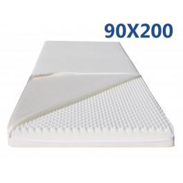 materasso mdf con forma massaggiante 90X200 ortopedico