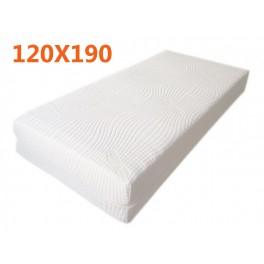 best website 78284 6999e materasso-memory-120x190-3-strati-alto-25cm-con-sottofodera ...