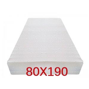"""Materasso Ortopedico 9 Zone 80x190 Singolo """"GOLIA""""  Alto 23 cm sfoderabile con fodera in 3D AIR FRESH"""