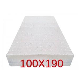 """Materasso Ortopedico 9 Zone 100x190 Singolo """"GOLIA""""  Alto 23 cm sfoderabile con fodera in 3D AIR FRESH"""