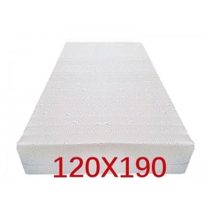 """Materasso Ortopedico 9 Zone 120x190 Singolo """"GOLIA""""  Alto 23 cm sfoderabile con fodera in 3D AIR FRESH"""
