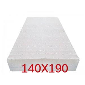 """Materasso Ortopedico 9 Zone 140x190 Singolo """"GOLIA""""  Alto 23 cm sfoderabile con fodera in 3D AIR FRESH"""