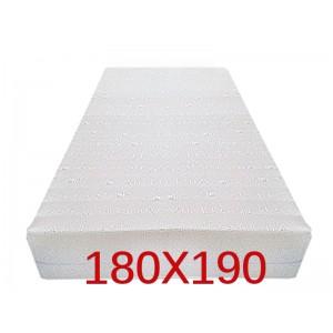 """Materasso Ortopedico 9 Zone 180x190 Singolo """"GOLIA""""  Alto 23 cm sfoderabile con fodera in 3D AIR FRESH"""