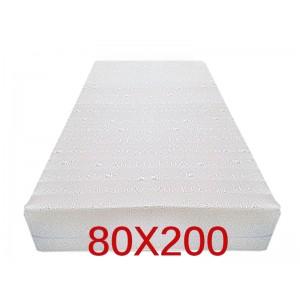"""Materasso Ortopedico 9 Zone 80x200 Singolo """"GOLIA""""  Alto 23 cm sfoderabile con fodera in 3D AIR FRESH"""