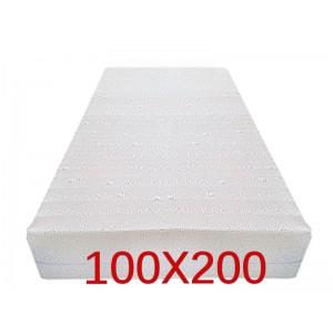 """Materasso Ortopedico 9 Zone 100x200 Singolo """"GOLIA""""  Alto 23 cm sfoderabile con fodera in 3D AIR FRESH"""