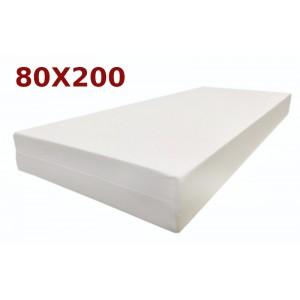 Materasso Ortopedico Golia Milano 9 Zone 80x200 Singolo Alto 23 cm sfoderabile con fodera Milano Liscia