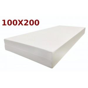 Materasso Ortopedico Golia Milano 9 Zone 100x200 Singolo Alto 23 cm sfoderabile con fodera Milano Liscia