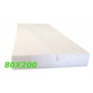 """Materasso 80x200 Ortopedico  Singolo """"MORFEOAV""""XL  Alto 18,5 cm fodera in aloe vera"""